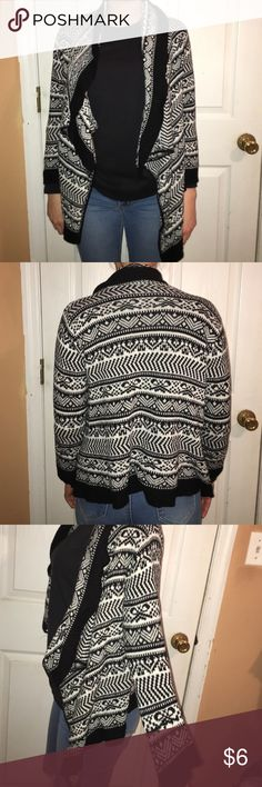 Tribal cardigan Tribal cardigan. Size small Sweaters Cardigans
