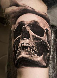 Great Skull Tattoo