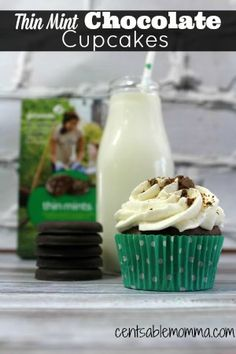 I LOVE, love, love Thin Mint Girl Scout Cookies. So, these Thin Mint Chocolate Cupcakes are an awesome idea to use your cookies (if you have any left!). Plus, you can't beat mint recipes for St. Patrick's Day. If you are out of Girl Scout cookies (or just don't like a hint of mint), you …