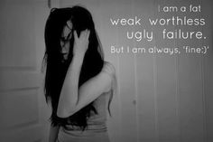 Me and my life is one big fat massive failure!! And I REALLY FUCKING HATE MYSELF!!