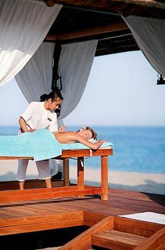 Beach massages by Zen the Spa at Fujairah Rotana Resort and Spa