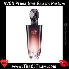 #Avon #Prima Noir Eau de Parfum. Strong. Mysterious. Graceful.   Prima Noir is inspired by the strength and alluring mystique of a prima ballerina with a bold enigmatic edge. This nighttime scent is an indulgent expression of warm, feminine notes for the woman who isn't afraid to let her hair down. Fun and playful yet always graceful, she knows when the sun goes down, it's her time to shine. Reg. $30 #PrimaNoir #New #Fragrance #Perfume #CJTeam #C25 #Avon4Me #Parfum Shop online…
