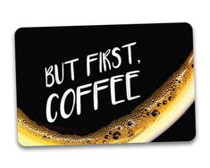 #fridgemagnets #magnets COFFEE Fridge Magnet. But First Coffee. by BetterMagnets