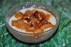 A B C vos IG: Poires épicées aux noix caramélisées (IG bas)