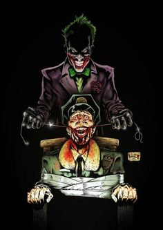 Joker #comic #DC #batman . For more images follow pyra2elcapo