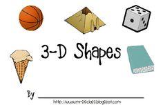 10 Activities for Describing 3D Shapes in Kindergarten (K.G.3)