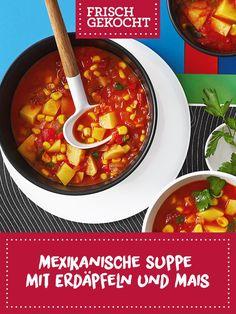 Guacamole, Chili, Tex Mex, Soups, Food, Mexican Sopes, Apple, Recipies, Chile