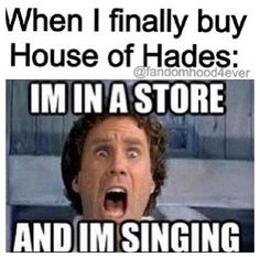 I'm in a store and I'm singing!