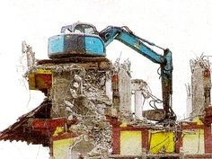... safety and stricter regulation in the industry, high reach demolition  booms are fast becoming the choice attachment for demolishing old buildings,  ...