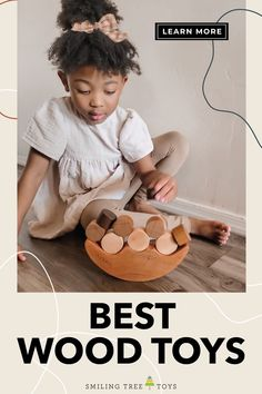 Looking for the best wood toys to promote learning through play? Shop handmade wooden toys made in the USA from Smiling Tree Toys for thoughtfully designed toys and gifts both you and your children will adore! Wooden Toy Crates, Wood Toys, Wooden Alphabet, Wooden Letters, Baby's First Ornament, Bug Toys, Welcome New Baby, Imagination Toys, Name Bunting