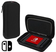 Navitech Black Premium Compact Travel Hard Carry Case