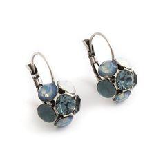 Bloem oorbellen van Moliere Paris koop je bij Aurora Patina, de leukste sieraden webshop van Nederland!
