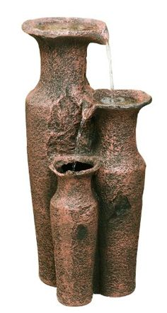 Sama Cascading Jars Water Feature @ £89.95