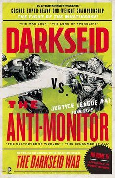 """Darkseid War"" Poster"