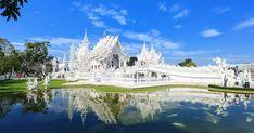 Severní Thajsko - Chiang Mai a Chiang Rai a výlet v Dauhá - Qatar Chiang Rai, Temples, Mansions, House Styles, Blog, Mansion Houses, Manor Houses, Temple, Fancy Houses
