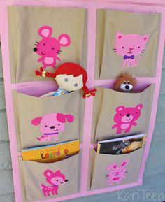 Kids pocket wall organizer / Rippriiul lastetuppa