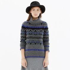 Madewell - Iceblock Turtleneck Sweater