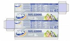 papel aluminio imprimible