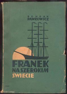 Polish book cover, 1938, Franek Naszerokim