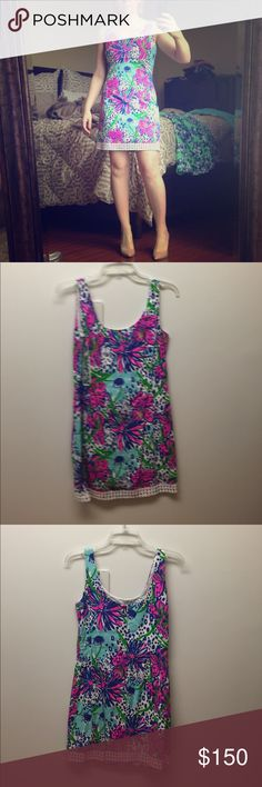 Lilly Pulitzer Shift Dress Lilly Pulitzer Shift Dress - Size 2. Worn 3 times. Lilly Pulitzer Dresses