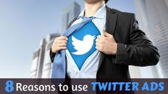 8  Reasons to use Twitter Ads Social Media Marketing, About Me Blog, Articles, Ads, Twitter, Fictional Characters, Fantasy Characters