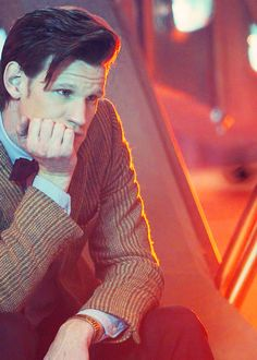 Matt Smith plays the time traveling Doctor in BBC's long running Sci-Fi series Doctor Who.