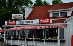 "Door County, WI Wilson's....and old-fashioned restaurant and ice cream stand !! A ""must stop"" in Door County."