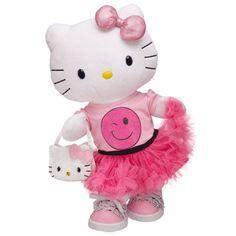 Hello Kitty Authentic Japan Sanrio Nakajima Midnight Ebony Black Swingy Earrings
