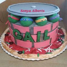 Ninja Turtle Cake Petes Sweets Pinterest Ninja turtles
