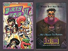 DIRTY PAIR II #1 1ST PRINT Eclipse Comic Book 1989 Anime Bagged and Boarded