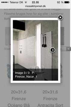 Mosaikhjørnet - dette kunne være flot i køkkenet som stænkplade