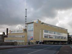 HAV bankgebouw (1931-1935) Schiedam Dutch Netherlands, Rotterdam, Holland, Cn Tower, The Neighbourhood, Street View, City, Building, Travel