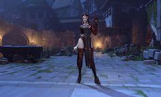 Overwatch Halloween Skin: Vampire Symmetra