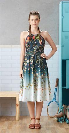 Só na Antix Store você encontra Vestido Midi Dália com exclusividade na internet