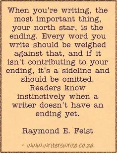 Find out more about the author here and read our Interview with Raymond E. Feist ~~~ Writers Write offers the best writing courses in South Africa. Writers Write - Write to communicate. Writing Words, Fiction Writing, Writing Advice, Writing Resources, Writing Help, Writing Skills, Writing A Book, Writing Prompts, Writing Lab