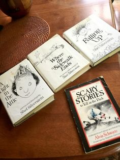 Books from childhood: To be young again.  I love Shel Silverstein!!!