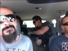 "Ghost adventures, Aarons vlog Zak in the back seat. :P ""sorry dad...."" HAHAHAH XD"