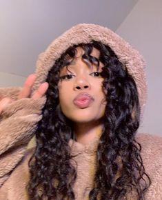 @keeahwah 3a Curly Hair, Black Girl Curly Hairstyles, Girls Natural Hairstyles, Black Curly Hair, Cute Hairstyles, Curly Hair Styles, Baby Pink Aesthetic, Aesthetic Hair, Instagram Girls