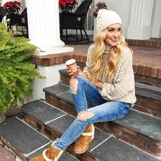 Today was a two cup kinda day ☕️ in my favorite @FreePeople sweater - and hello cold front temps! ❄️ If you love big cozy sweaters like this one, you can shop it at your local #FreePeople store on 12.8 for a Night of Giving! A proceed from every purchase will go towards @GirlsInc - because every girl deserves her chance to shine. ✨ #FPGirls | @liketoknow.it http://liketk.it/2pOhx #liketkit