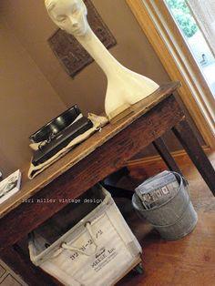 Round Barn Potting Company: just a peek ~ home tour