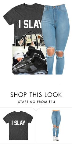 """""""I slay"""" by xbambiix ❤ liked on Polyvore featuring Chanel and October's Very Own"""