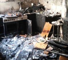 ¿Qué se ve en el interior de un incendio? Bomberos de Jaén nos lo enseña