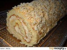 Medová roláda - My site Czech Recipes, Russian Recipes, Eastern European Recipes, Desert Recipes, Graham Crackers, Food Hacks, Banana Bread, Sweet Tooth, Deserts