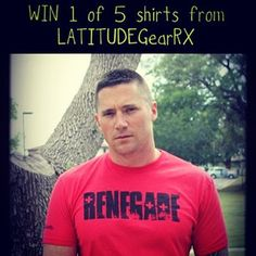 Come enter to WIN a Latitude Gear RX shirt!! We are giving away 5!!! For men & women!