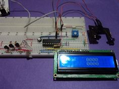 Tachometer controlled by MSP430 microcontroller