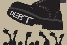 Student Debt is one of those things in society we all tend to take for granted. Most that go to college or university are required to in-debt themselves in order to pay for tuition and living expen. College Costs, College Tuition, State College, Education College, Higher Education, College Life, Federal Student Loans, Student Loan Debt, Smart Strategy