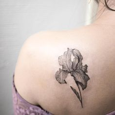 FEBRUARY: Tattooist Hongdam flower tattoo