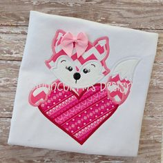 Girl+Fox+Heart+Applique+by+MunchkymsDesign+on+Etsy,+$4.00
