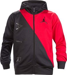purchase cheap 47dcc 1977f Jordan Air Boys Youth Therma-Fit Zip Hoodie Jacket Size M... https