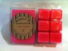 Cotton Candy Highly Scented Breakaway Wax Tart Use with Scentsy warmer